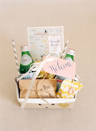 ideas for your lake tahoe wedding wele bag or box