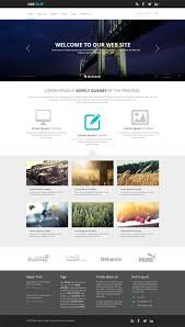 professional webtemplate 027 free professional website templates template impressive