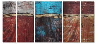 lithosphere 29 metal wall art decor hilary winfield on turquoise wood and metal wall art with acute angles red abstract textured 3d metal wall art hanging decor