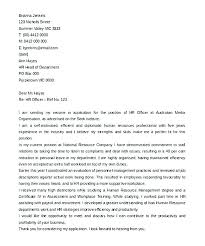 cover letter to human resources hr cover letter resume creator simple source