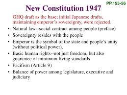 「1945 GHQ japanese constitution editing staffs」の画像検索結果