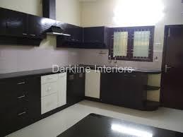 Modular Kitchen Handle Design Modular Kitchen Works Darkline Interiors