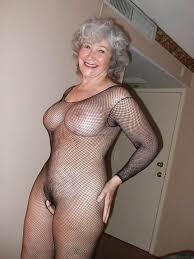 Mature big tits 50 gray hair