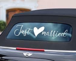 7.167 zugriffe auf alle ausmalbilder bislang: Just Married Car Etsy