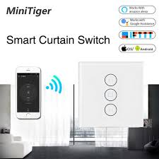 us standard 10a wireless remote smart wall switch ceiling fan controller touchs speed panel work with alexa google home
