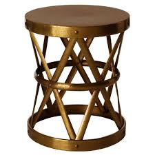 metal drum table. Affordable Find: Metal Drum Table