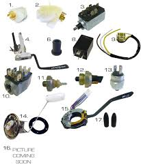 volkswagen thing electrical parts wiring harnesses
