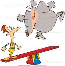 Image result for jumping elephant clipart