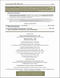 Healthcare Resume Examples New Healthcare Executive Resume Examples