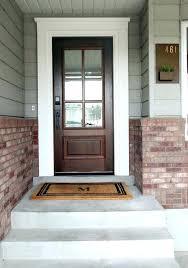 wooden front door with glass front wood doors with glass modern wooden front door home decorating