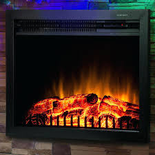 electric fireplace log inserts with heaters gorgeous insert heater arrowflame deluxe 24 intended for 15