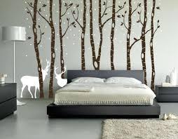 birch tree winter forest vinyl wall decal