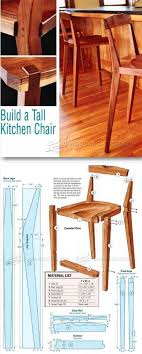 woodworking plans modern furniture. kitchen chair plans furniture and projects woodwork woodworking modern e