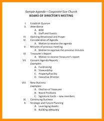 Sample Agendas For Board Meetings 15 Nonprofit Board Meeting Agenda Template Sample Paystub