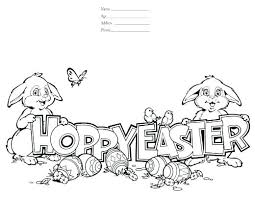 Easter Coloring Book Printable Coloring Pages Printable Free