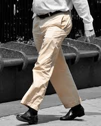 Guys in khaki pants fetish
