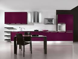 Purple Kitchen White Kitchen Cabinets With Purple Walls Quicuacom