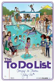 The To Do List Debuts A New Poster And An Interactive Trailer