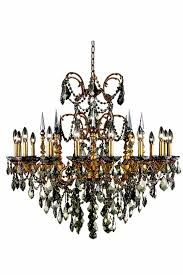 elegant 9716d35fg gt rc athena chandeliers 35in french gold 16 light
