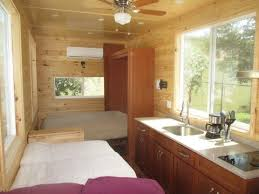 Small Picture Sleep Without Climbing in This Loft less Tiny House YouTube