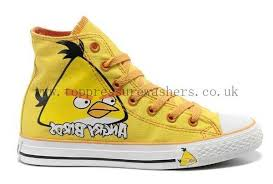 converse shoes yellow. sale online converse shoes angry yellow birds all star chuck taylor high top
