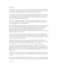 Sweet Love Letters For Him Inspirational Romantic Letter Her From To ...