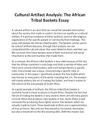 essay of culture co essay of culture
