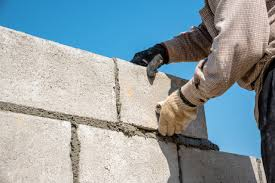 how much does a concrete block wall cost in 2019