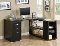cozy inspiration modern corner desk incredible decoration cappuccino hollow