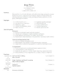 Small Engine Mechanic Sample Resume Inspiration Sample Resume Automotive Technician Automotive Technician Sample