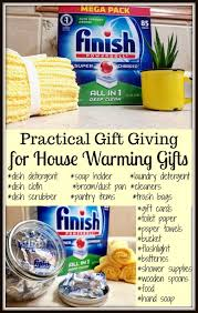 practical gift giving house warming gift ideas