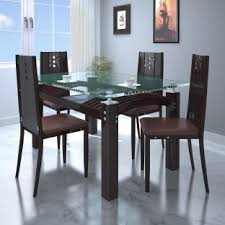 bedroomexciting small dining tables mariposa valley farm. Merveilleux Parin Glass 4 Seater Dining Set Bedroomexciting Small Tables Mariposa Valley Farm