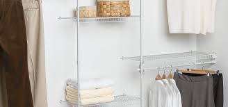 closetmaid fixed mount closet organizer kit white color 5 to 8 feet review