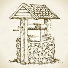 Water Well Design Drawing Water Well Stock Illustrations Royalty Free Water Well