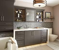 kitchen cabinets in bathroom. Maple_wood_cabinets_painted_kitchen_island · Painted Cabinets In A Casual Bathroom By Schrock Cabinetry Kitchen