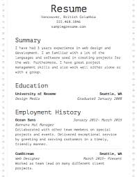 select template dot matrix builder resume