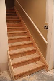 Stair Renovation Solutions Painted Basement Steps With Board And Batten Unskinny Boppy