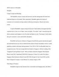 swot analysis of breadtalk essays zoom