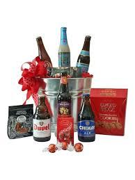 valentine s day belgian beer gift basket valentines day gifts for boyfriend gifts for beer