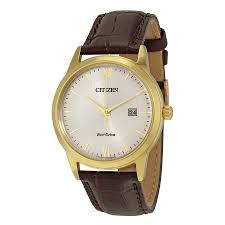 citizen men 039 s straps eco drive ivory white dial watch aw1232 04a zoom