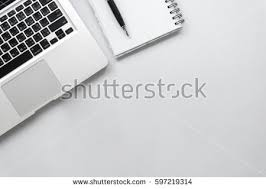 white desk top view. Modren Desk White Office Desk Table Top View With Copy Space And Desk Top View T