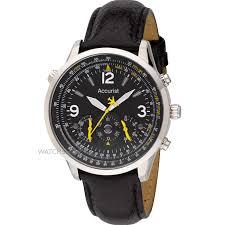 "men s accurist aviator chronograph watch ms885y watch shop comâ""¢ mens accurist aviator chronograph watch ms885y"