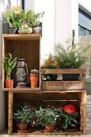 creative herb gardening idea inside old