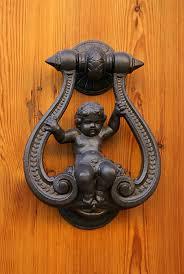 Door handles as art. The house begins with the door handle, especially if it