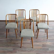 retro dining chairs for sale. vintage dining chairs from ton, 1960s, set of 5 retro for sale r