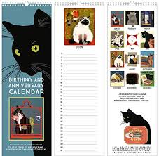 Birthday Anniversary Calendar Linnea Design Cat Birthday Anniversary Perpetual Calendar Wantitall