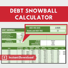 Debt Snowball Calculator Dave Ramsey Budget Automatically Calculates Debt Payoff