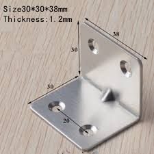 quartet furniture. 30*38MM Stainless Steel Angle Code Quartet Connector Right Furniture Installation Accessories Corner 30pcs-in Brackets From Home T