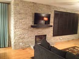 dry stack stone fireplace cost outdoor slate