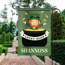 Small Picture Luck O the Irish St Patricks Day Design Personalized House